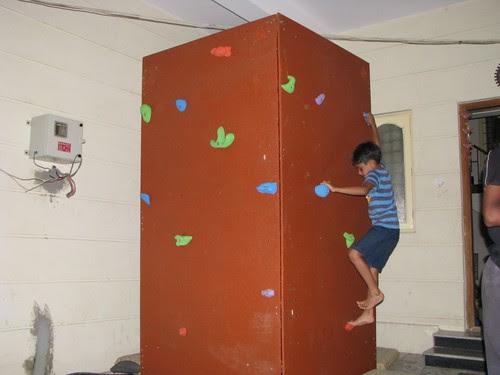 Mobile Climbing Wall 7