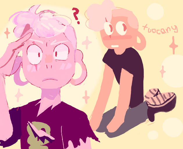 i cant believe lars is pink diamond……..