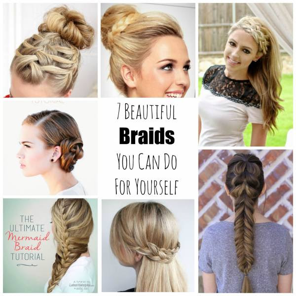 7 Beautiful Braids You Can Do For Yourself - Bath and Body