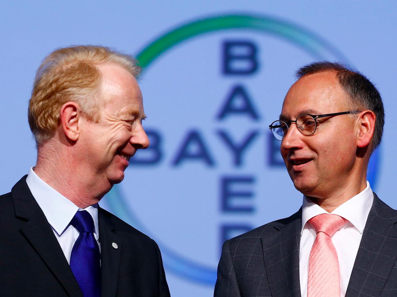 Bayer AG Marijn Dekkers Werner Baumann