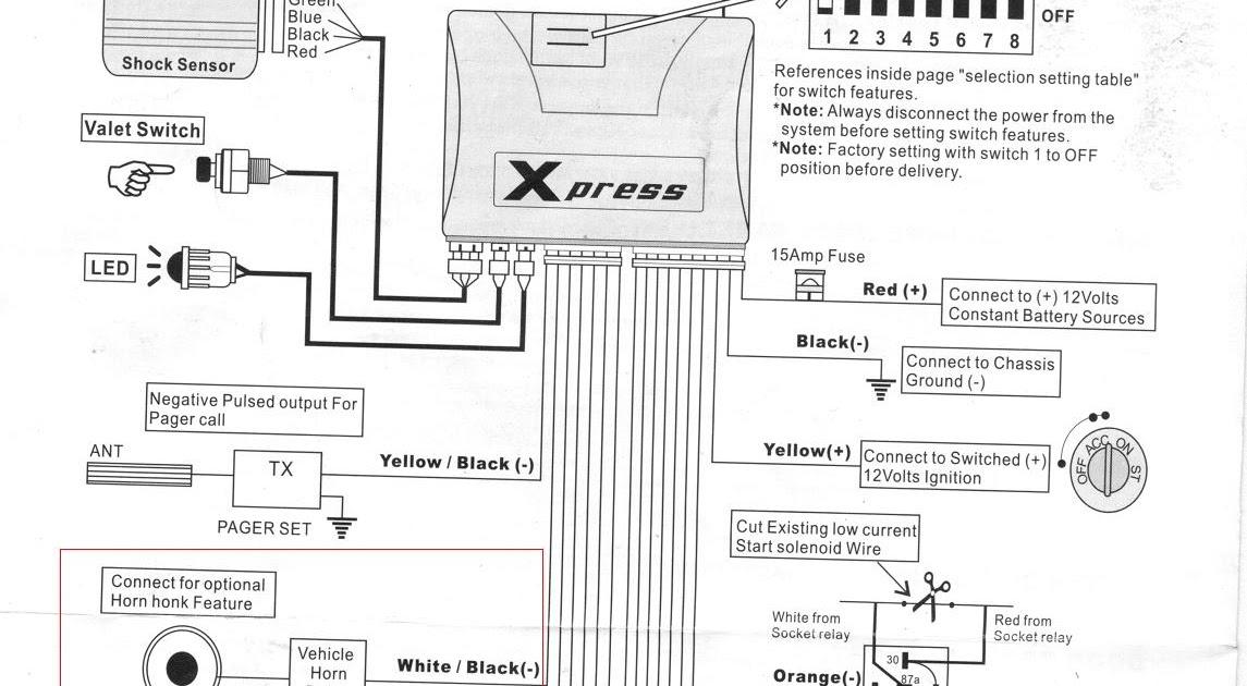 Ford Ranger Alarm Wiring Diagram