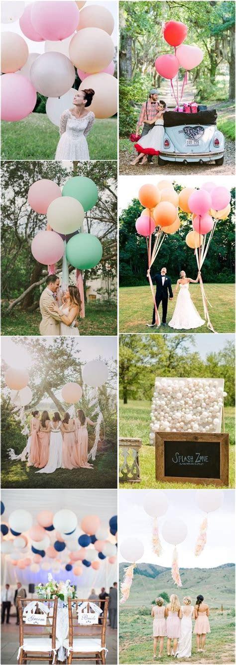 35 Giant Balloon Wedding Ideas For Your Big Day   Wedding