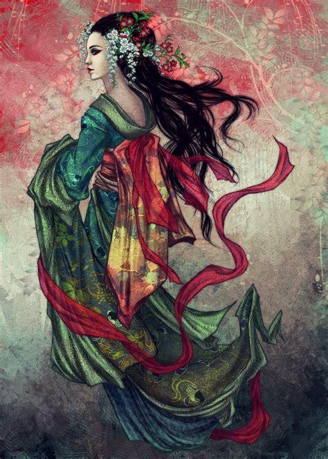 geisha  vinegar  deviantart