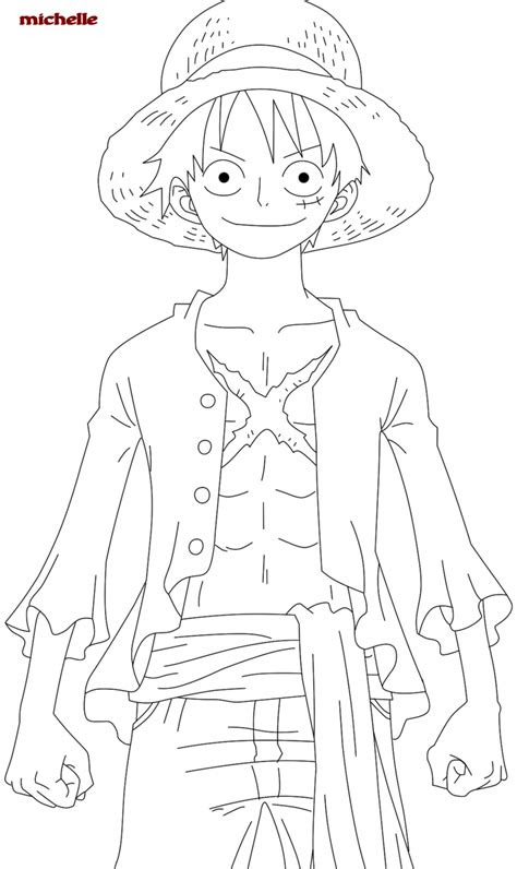 piece luffy coloring pages anime coloring