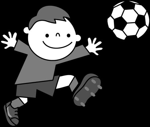 サッカーのイラスト 無料イラストフリー素材