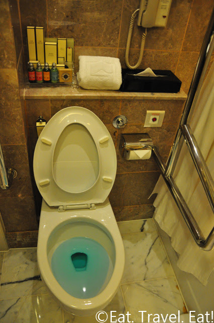 Island Shangri-La Handicapped Bathroom Toilet