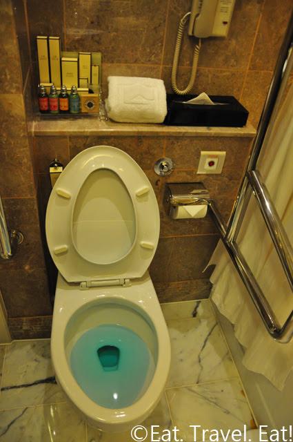Island Shangri-La Handicapped Bathroom Toilet