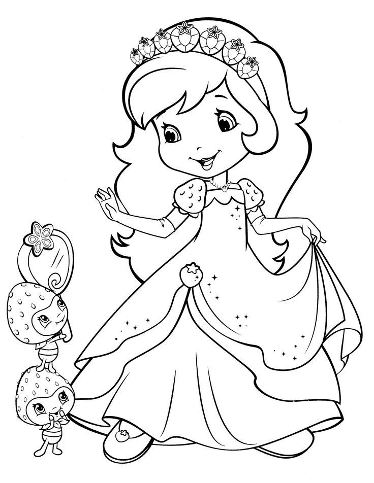 Strawberry Shortcake Coloring Pages Sheets 5 Gianfredanet