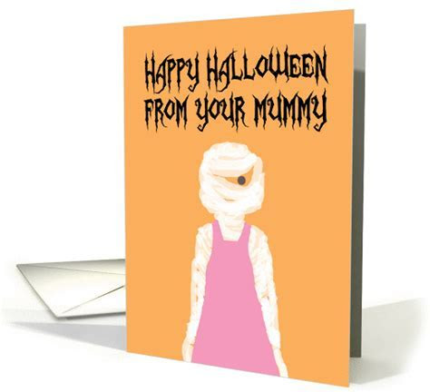 To Son From Your Mummy (Mommy) Happy Halloween card (1085570)