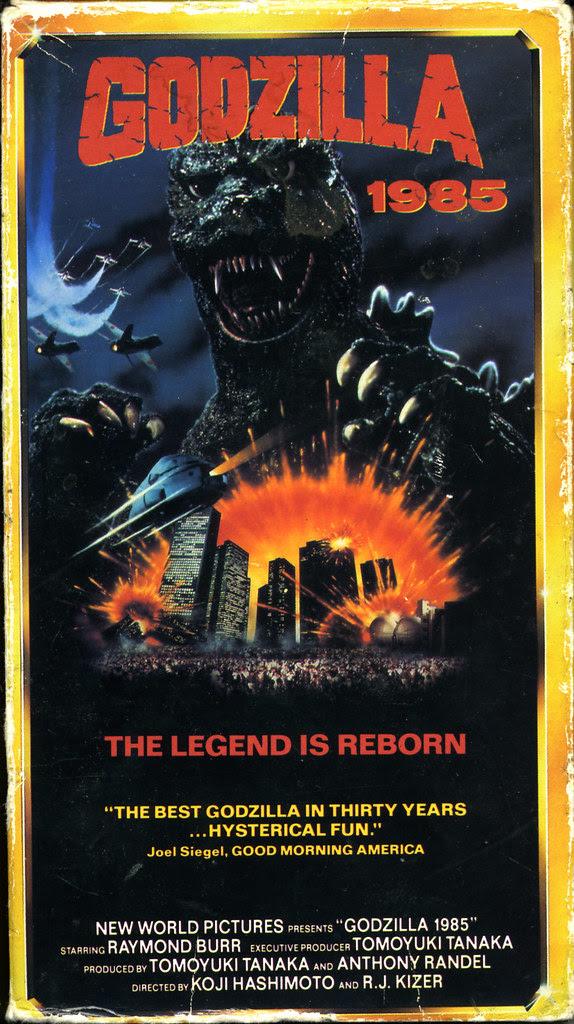Godzilla 1985 (VHS Box Art)