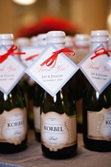 The Awesometastic Bridal Blog: Korbel Wedding Favors