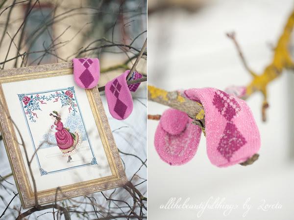 Winter Rose (Lavender & Lace)