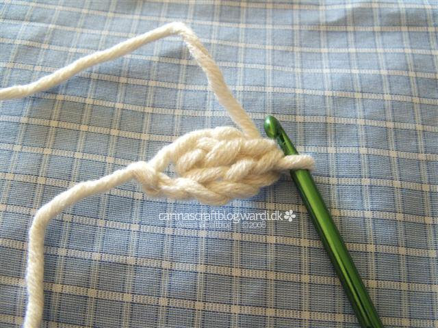 Crochet no foundation chain tutorial