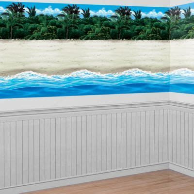 Beach Room Roll 4ft x 40ft   Party City