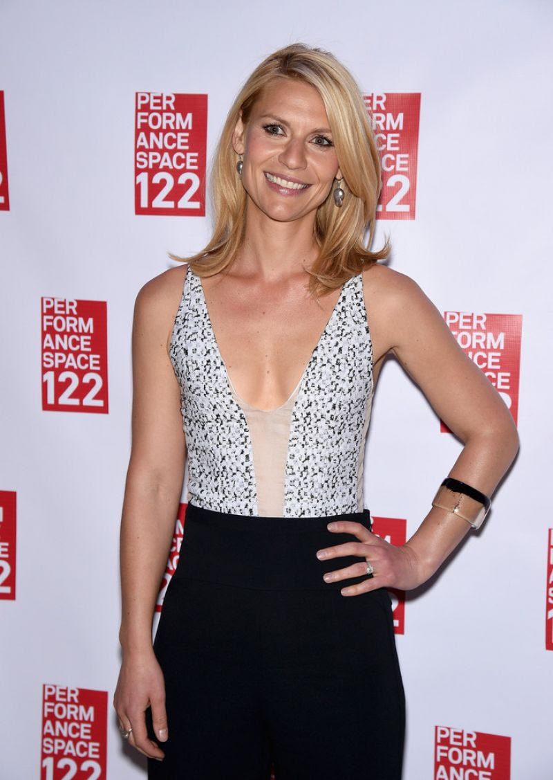 CLAIRE DANES at Performance Space 122 2015 Spring Gala in New York