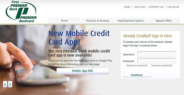 First Premier Credit Card Login - Access To MyFirstPremierCard Account, firestone credit card.# ...