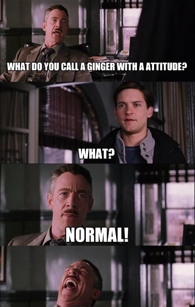 told by fisting As ginger