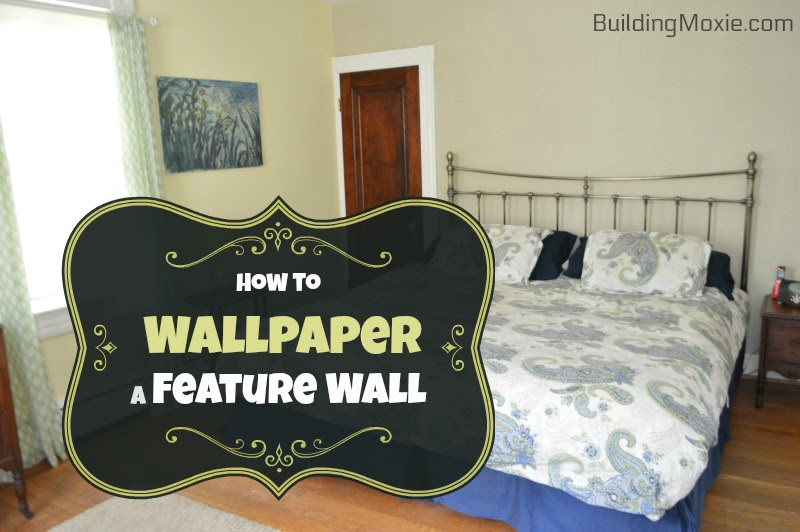 Hanging Wallpaper On A Feature Wall A Fix For A Troubled Plaster Wall