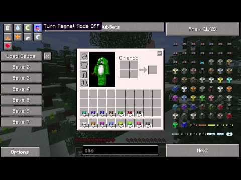 Minecraft MOD | Not Enough Items (1.7.10)
