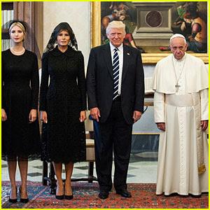 Donald, Melania, & Ivanka Trump Meet Pope Francis, Meeting Described as 'Stiff'