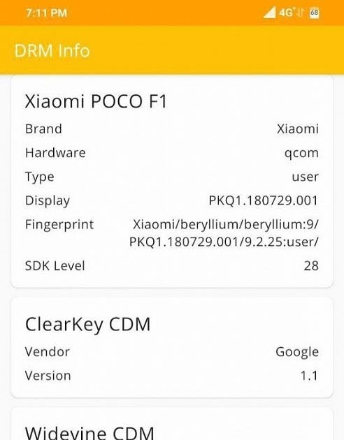 The Xiaomi POCO F1 gets Widevine L1 support in the latest MIUI beta