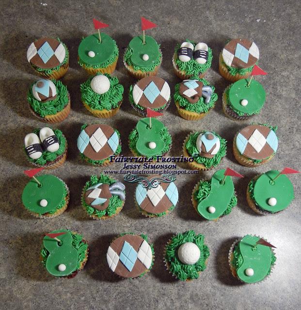 BLOG Golf Cupcakes