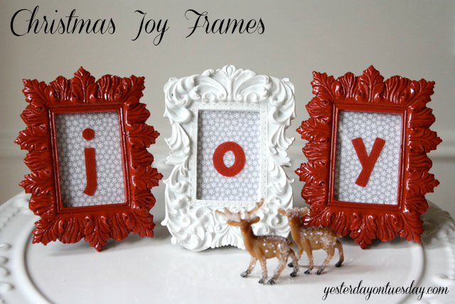 Christmas Joy Frames