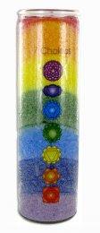 Healing Chakra Meditation Candle - Candela per la Meditazione