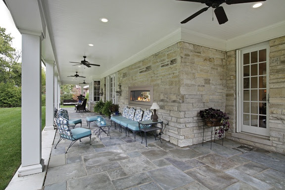 Two Sided Fireplace – indoor / outdoor | Fresh by Tara