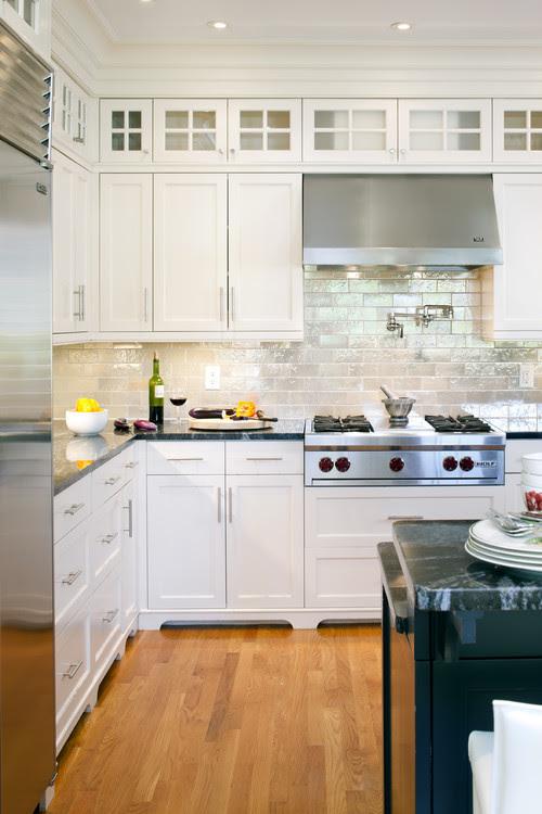 Shingle Style Kitchen Detail contemporary kitchen