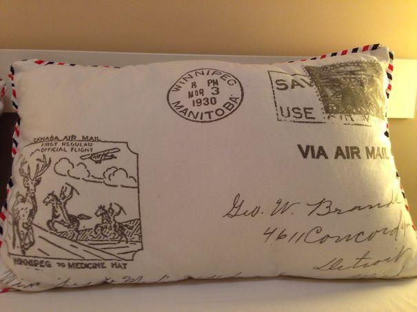 Airmail Pillow