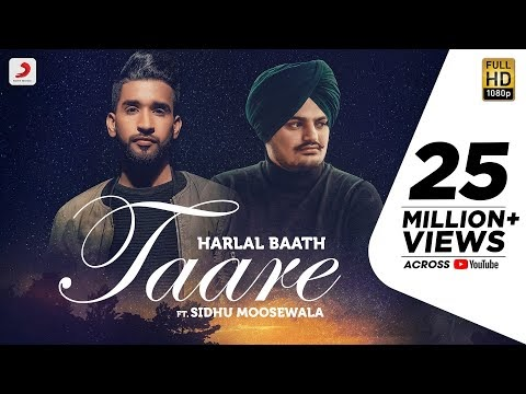 TAARE LYRICS Beat - SIDHU MOOSE WALA