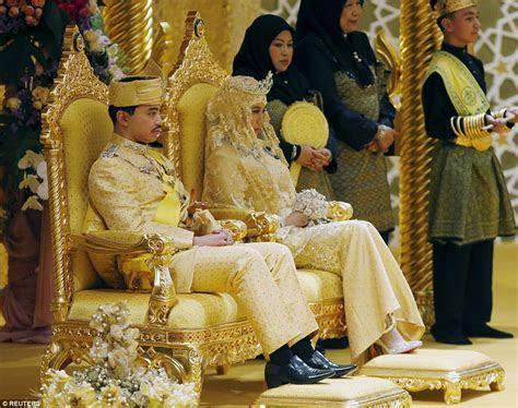 Sultan of Brunei's son Prince Abdul Malik gets married in