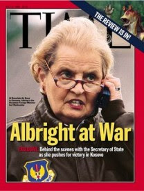 Madeleine Albright on the cover of Time