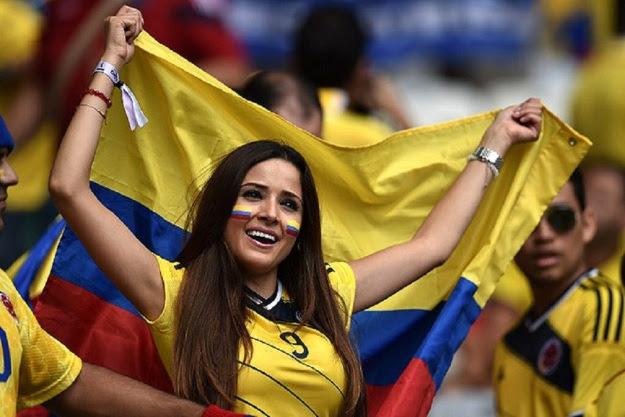 Ini dia foto-foto suporter cantik dan seksi penyemarak Piala Dunia
