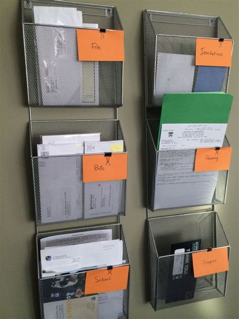 diy organization ideas tutorials   home office