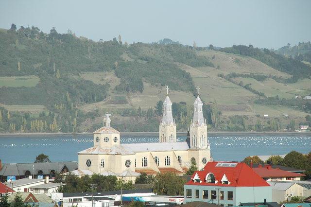 Ile de Chiloe, Castro