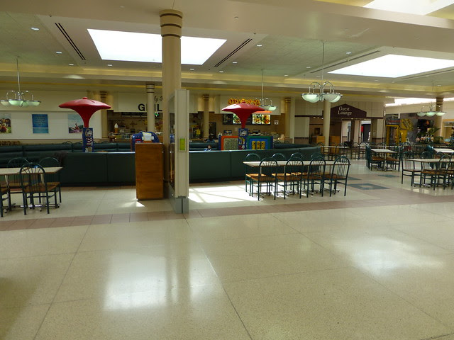 Richland Mall In Mansfield Ontario Ohio Food Court