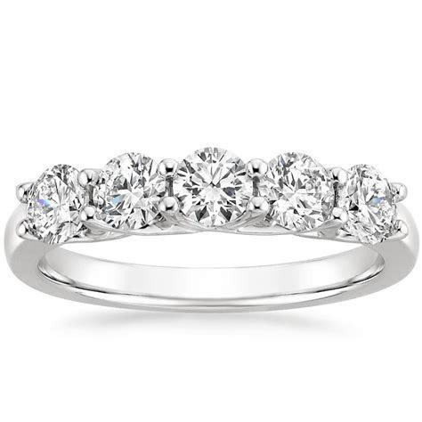 Signature Five Stone Trellis Diamond Ring   Brilliant Earth