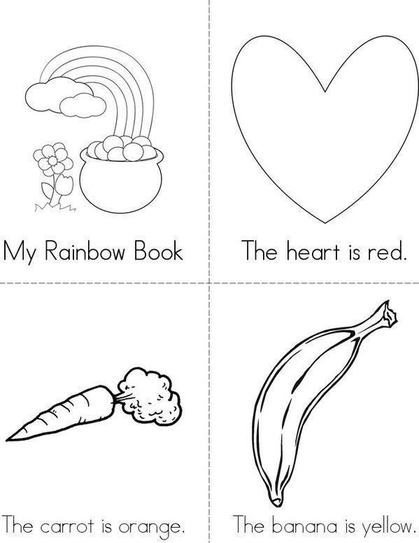 My Rainbow Book - Twisty Noodle