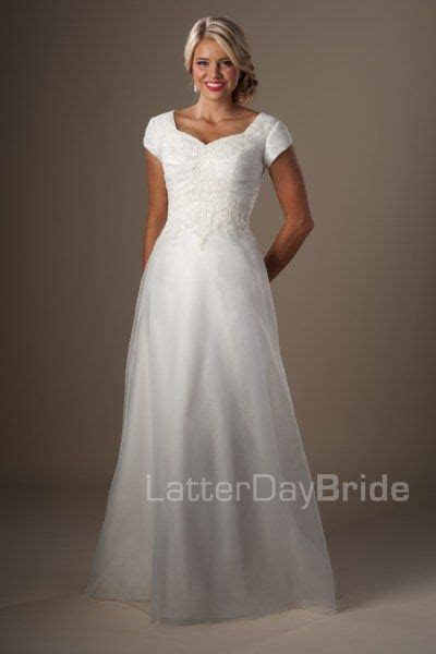 17 Best images about Modest Wedding Dresses on Pinterest
