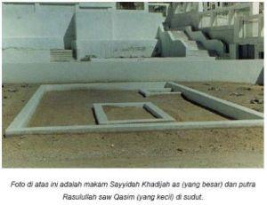 Makan Siti Khadijah ra