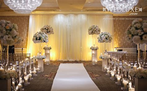 2014 ivory champagne modern wedding reception decorations