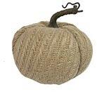 "Harvest Burlap Pumpkin - 5.75"""