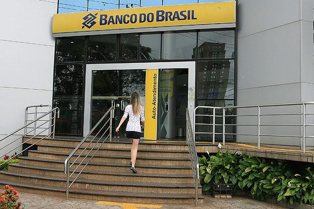 Agência do Banco do Brasil no interior de São Paulo