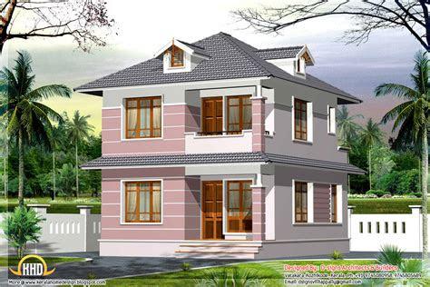 square feet small home design kerala home design