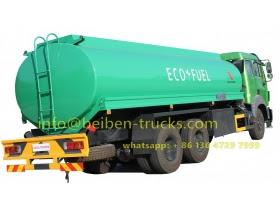 beiben 20 CBM fuel truck supplier