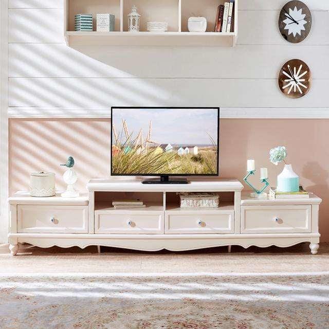 Fashionable Wood Corner Tv Cabinet Elegant Design Tv Stand Wooden Furniture