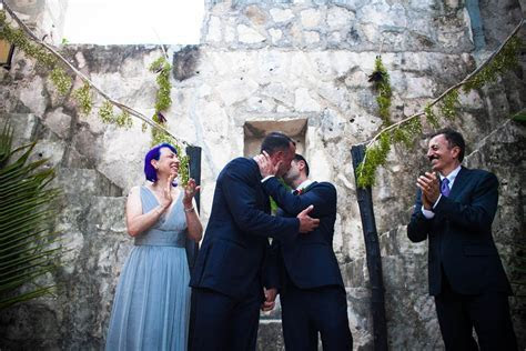 Tulum, Mexico beach wedding   Equally Wed   LGBTQ Weddings