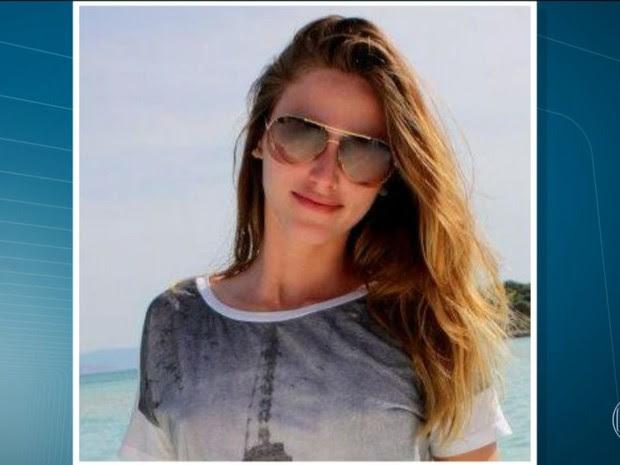 Modelo Aline Furlan está desaparecida - Piracicaba (Foto: Reprodução/TV Globo)